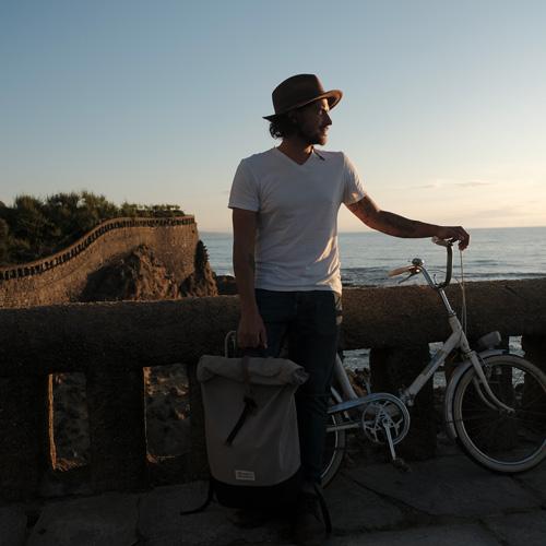 Biarritz Velo Homme chapeau Coucher de soleil