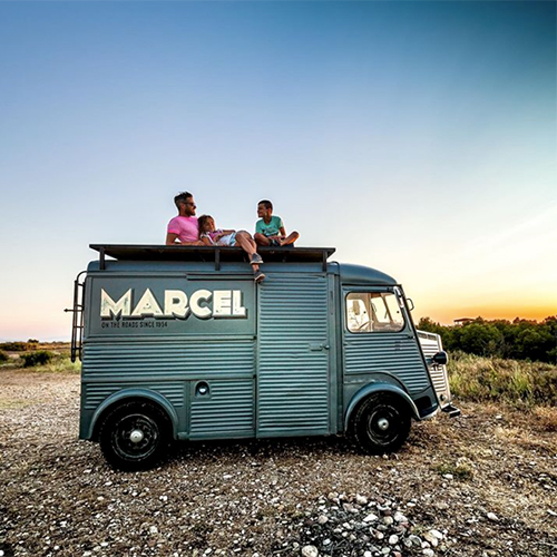 Marcel Vibes Vanlife with kids MeroMero