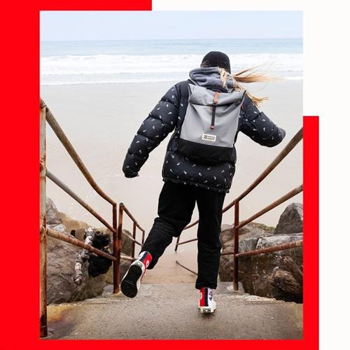 MeroMero sac à dos Mini-Squamish Bidart plage escalier