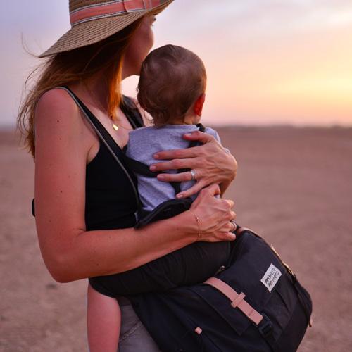 Famille Us Around The World Maroc Clem&Leon sac à langer nomade