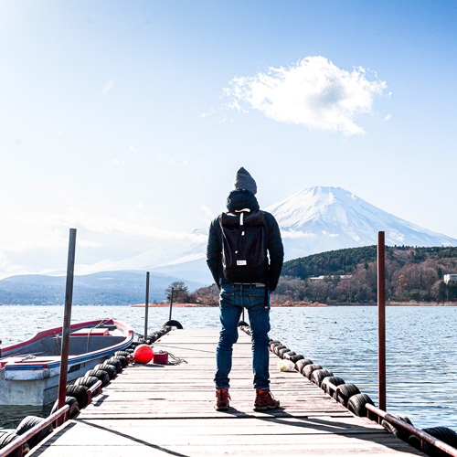 Marcel Vibes Mont Fuji MeroMero sac à dos