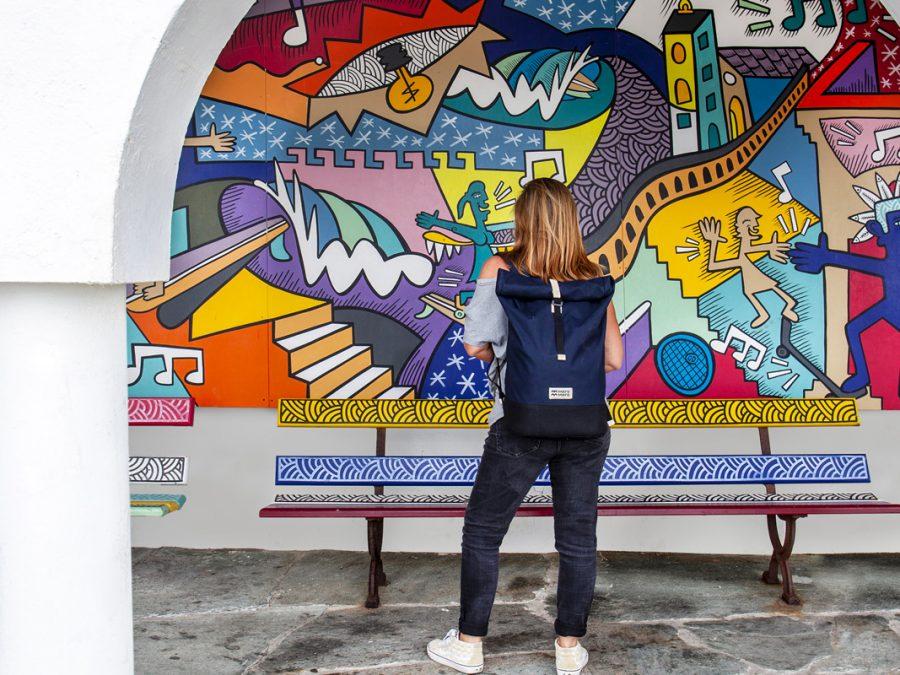 Life Maker xavier en vacances à Bidart Fresque Nilsinne Ambassadeur MeroMero