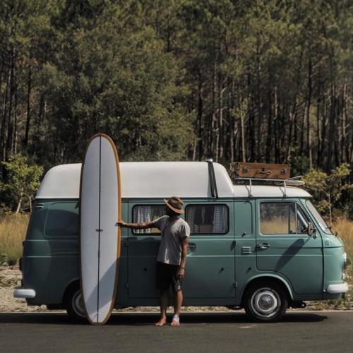 Flo Lanni Pistachio Van surf