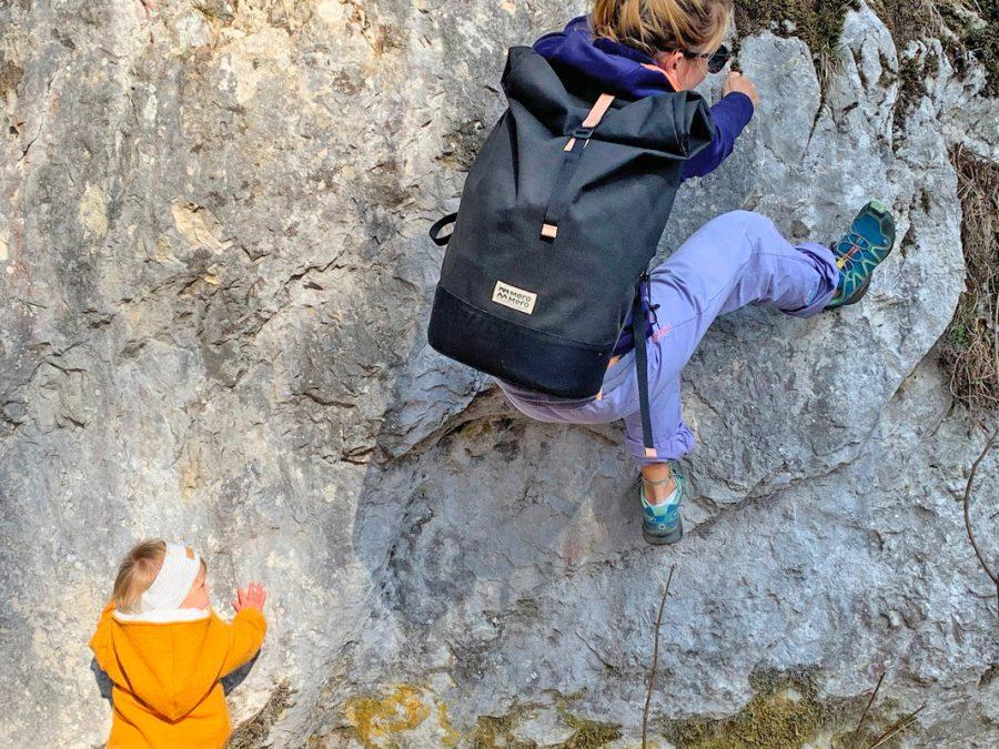 Alpenbaby maman escalade sac à dos MeroMero Squamish