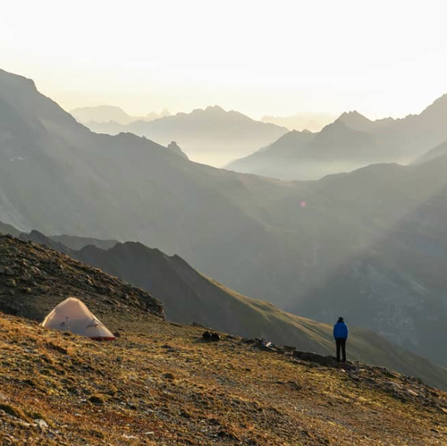 Remi Astegiano bivouac montagne