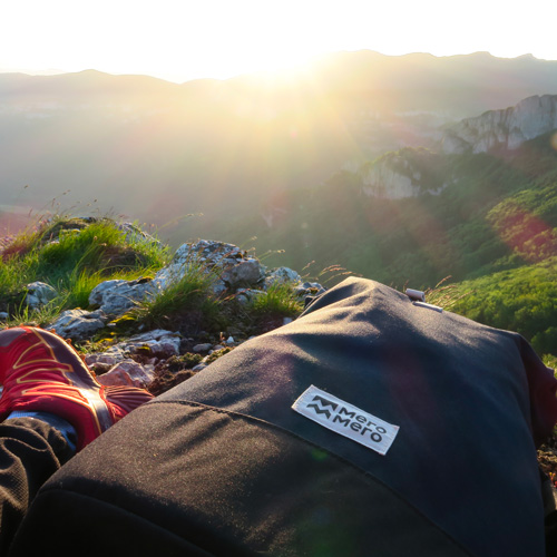 Remi Astegiano sommet montagne sac à dos MeroMero
