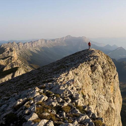 Remi Astegiano Vercors sommet Grand Veymond