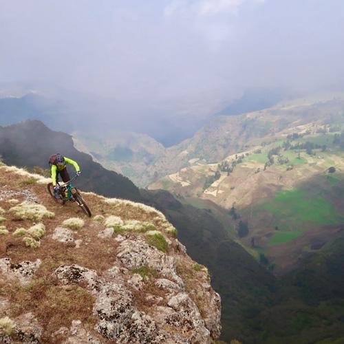 Fred Horny explorateur VTT Ethiopie