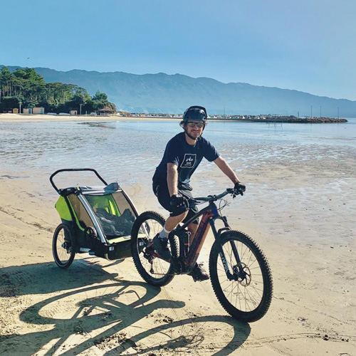 Max Prechtel bike Thule
